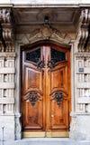 Door,Milan, Italy Stock Photo