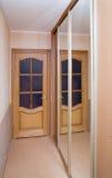 Door and mirror Royalty Free Stock Photo
