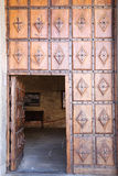 Door Monastery of the Annunciation in Salamanca, Spain Royalty Free Stock Photos