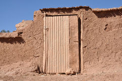 Door in a Moroccan village Stock Images