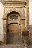 Door in morocco. An old door in fez, marocco Royalty Free Stock Images