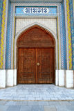 Door of mosque Stock Photo