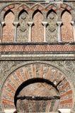 Door of the mosque in Cordoba Stock Photography