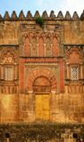 Door of the mosque in Cordoba Stock Photo