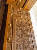 Door. Mosque Sultan Qaboos, Muscat, Oman Stock Photo