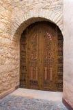 Door in Mrocco Royalty Free Stock Photos