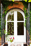 Door of new country house Stock Image