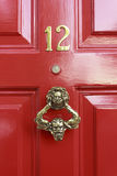 Door Number Royalty Free Stock Photography