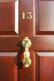 Door Number Royalty Free Stock Photos