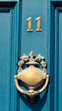 Door numer 11 Royalty Free Stock Image