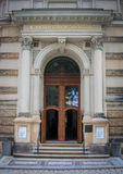 Door, Nymphenbad, Zwinger Palace, Dresden Royalty Free Stock Photo