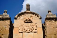 Free Door Of The Lions In Lleida Stock Photos - 25396983
