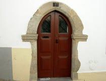 Door in ogive Stock Images