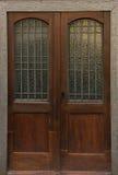 Door old architecture home design enter details Royalty Free Stock Image