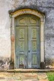 Door. Of an old baroque church Stock Images