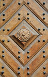 Door. Of an old building royalty free stock image