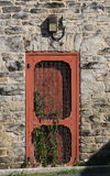 Door in Old Fire Tower Stock Photography