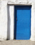 Door of old house in Crimea Stock Photography