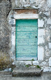 The door  of the old house in small village Maranovici Royalty Free Stock Photography