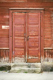Door of old house Stock Photography