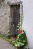 Door. Old door in island of R Stock Photography