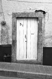Door of an old mexican house Stock Photography