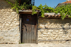 Door in old town of Nesebar, Bulgaria Royalty Free Stock Photography