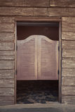Door of old western building Royalty Free Stock Photography