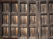 Door. Old wood texture. background old panels for design Stock Photo