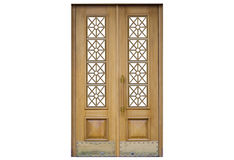 Free Door On A White Background Stock Images - 90185864