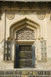 A door of one of the tomb located in the Haft Gumbaz Complex, Gulbarga, Karnataka. India stock photos