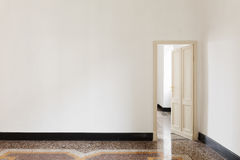 Door open of a room Royalty Free Stock Photography