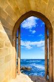 Door Open Sea Stock Images
