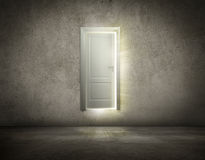 Door open to new opportunity Royalty Free Stock Photos