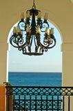 Door open venster 3 stock afbeelding