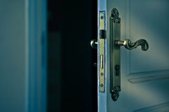 Door opening Royalty Free Stock Photos