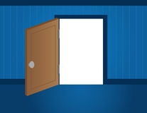 Door Opening Stock Photography