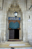 Door of an Ottoman Mosque, Istanbul Royalty Free Stock Image