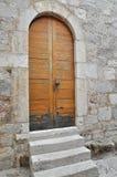 Door in Pag, Croatia Royalty Free Stock Photo