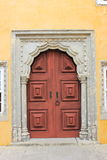 Door at palace of Pena Sintra - Portugal Royalty Free Stock Images