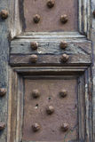 Door of the Palazzo Pubblico, Siena Stock Images