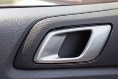 Door panel inside a car. Stock Images