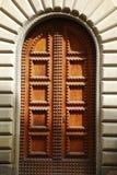 Door in Partial Shade Stock Image