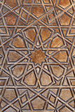 Door pattern, Selimiye Mosque, Edirne, Turkey Stock Photos