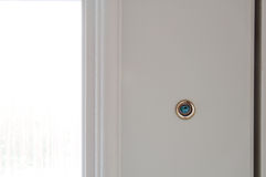 Door peephole Royalty Free Stock Photo