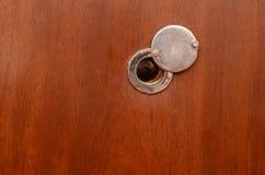 Door peephole Stock Image