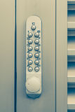 Door pin keypad with numbers Royalty Free Stock Images