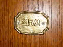 Door plate Stock Images