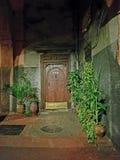 Door in Rabat medina stock photography