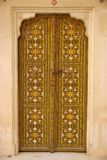 Door in Rajasthan Royalty Free Stock Images